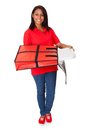 Pizza Delivery Service Royalty Free Stock Photo