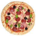 Pizza Deluxe Royalty Free Stock Images