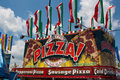 Pizza Food Stand at Carnival Royalty Free Stock Photo
