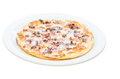 Pizza Frutti di mare, picture isolated. Royalty Free Stock Photo