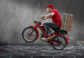 Pizza Guy Royalty Free Stock Photo