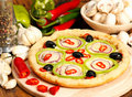 Pizza italiana Foto de Stock Royalty Free