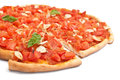 Pizza Marinara Royalty Free Stock Photo