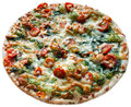 Pizza rucoli Stock Photos