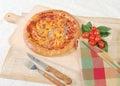 Pizza sardine tuna Στοκ εικόνες με δικαίωμα ελεύθερης χρήσης