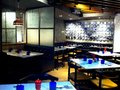 Pizzaexpress restaurant ambience mall interiors of the vasant kunj new delhi Stock Images