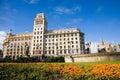 Placa catalunya, Barcelona Royalty Free Stock Photo