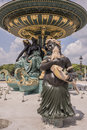 On the Place de la Concorde Fountain of the Rivers