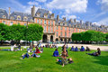 Place des Vosges, Paris Royalty Free Stock Photography