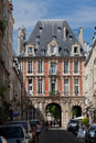 Place des Vosges Paris France Stock Photos