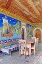 Orthodox Monastery of the Transfiguration of God - Landmark attraction in Veliko Tarnovo, Bulgaria Royalty Free Stock Photo
