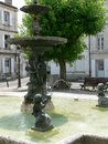 Place du Minage, Angouleme ( France ) Royalty Free Stock Photography
