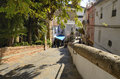 Place in marbella steps to the old city of andalusia spain Royalty Free Stock Image