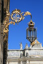 Place stanislas in nancy detail of the france Royalty Free Stock Photos
