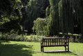 A place to sit peaceful and relax in the sun Stock Photos
