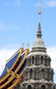 Place of worship religion buddhist temples wednesday Royalty Free Stock Photography