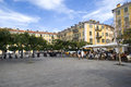 Placez Garibaldi, Nice, France Photo stock