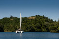 Placid Lake Rotoiti Stock Images