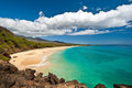 Plage de Makena Photographie stock libre de droits