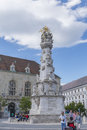 Plague Column, erected in honor Royalty Free Stock Photo