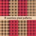 Tartan seamless pattern,diagonal background.Beige