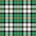 Plaid de Tartan Images libres de droits