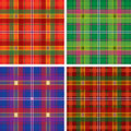 Plaid de tartan sans joint Photos stock