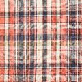 Plaid fabric as a background Stock Image