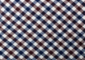 Plaid fabric macro detail of for texture or background Stock Images