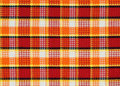 Plaid fabric pattern Royalty Free Stock Images