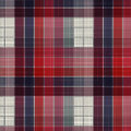 Plaid fabric texture abstract background Stock Photos
