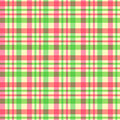 Plaid pattern Royalty Free Stock Image
