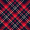 Plaid pattern Royalty Free Stock Photography