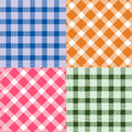 Plaid pattern four for background Royalty Free Stock Photo