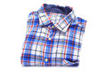 Plaid patterned shirt Stock Photos