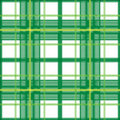 Plaid verde Fotografie Stock
