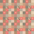 Plaid vintage pattern Royalty Free Stock Image