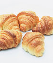 Plain croissant bread Stock Photography