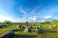Plain of jars Royalty Free Stock Photo