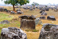Plain of Jars, Phonsavan, Laos. Stock Images
