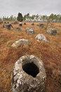 Plain of Jars in Xieng Khouang, Laos Royalty Free Stock Images