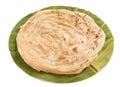 Plain Paratha In A Round Shape...