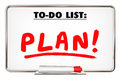 Plan To Do List Writing Word Priority Organize Tasks