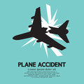 Plane Accident Royalty Free Stock Photo