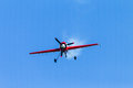 Plane Acrobatics Dive Flying Royalty Free Stock Photo