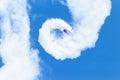 Plane Acrobatics Roll Flying Royalty Free Stock Photo