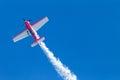 Plane Acrobatics Vertical Flying Royalty Free Stock Photo