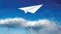 Plane clouds 5340