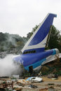 Plane Crash Stock Photos