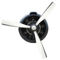 Plane Motor with Propeller Royalty Free Stock Photo